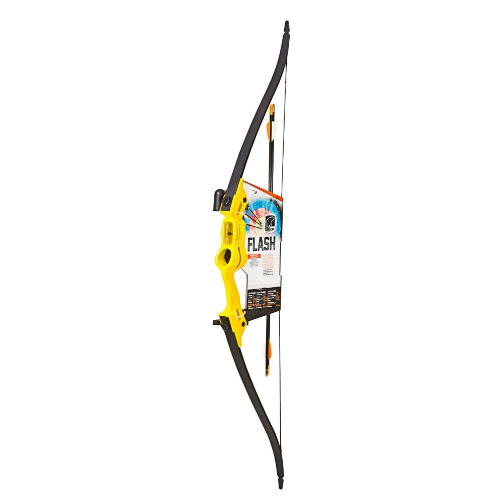 Bear Archery Bear Flash Bow Set RH/LH Yellow
