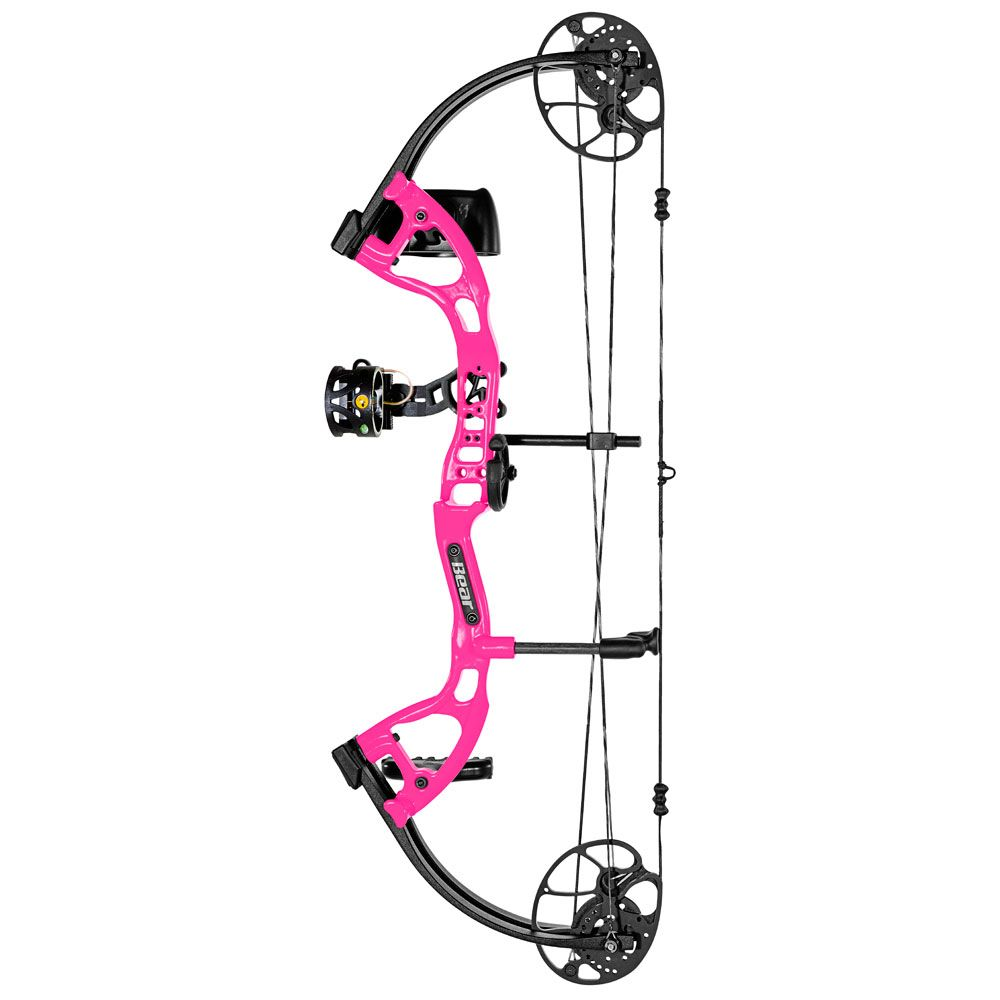 Bear Archery Bear Cruzer Lite RTH 45# RH Flo Pink