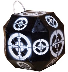 Southern Cross Targets SCT 18 Sided Broadhead Target Black/White