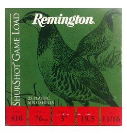 "Remington Remington 410 3"" #4 25Pkt"
