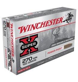 Winchester Winchester Super X 270Win 150gr PP 20Pkt