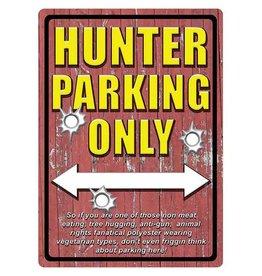 Rivers Edge Rivers Edge Tin Sign - Hunter Parking