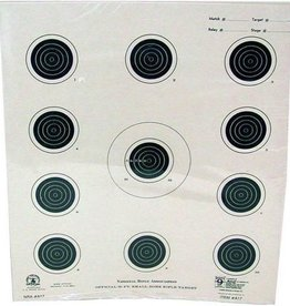 Hoppes Hoppes 9 Competition 50ft Small Bore Rifle Target 20Pk
