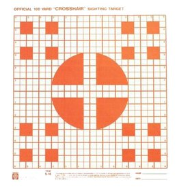 Hoppes Hoppes 9 Crosshair 100yd Sighting Target 20Pk