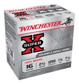 "Winchester Winchester Super X 16G 7.5 2-3/4"" 32gm HS 25Pkt"