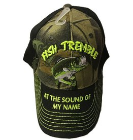 The Knife Kompany Fish Tremble At The Sound of my Name Cap Black Brim/Camo