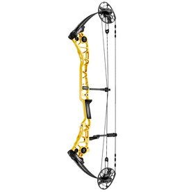 "Mathews Mathews Halon X Comp RH 60# 29.5"" Yellow 75%LT"