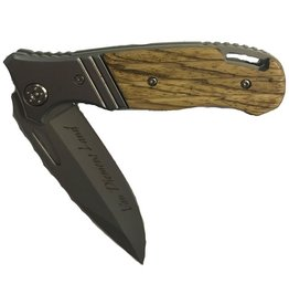 Performance Outdoors Van Diemens Kudu Folding Knife Black Handle