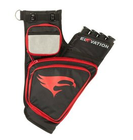 Elevation Elevation Transition Quiver<br /> Black/Red 4 Tube RH