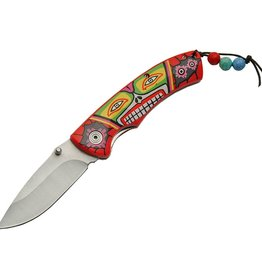 Piper Imports Spirit Indian Graphic Folder Knife