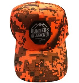 Hunters Element Hunters Element Heat Beater Cap Desolve Fire Camo