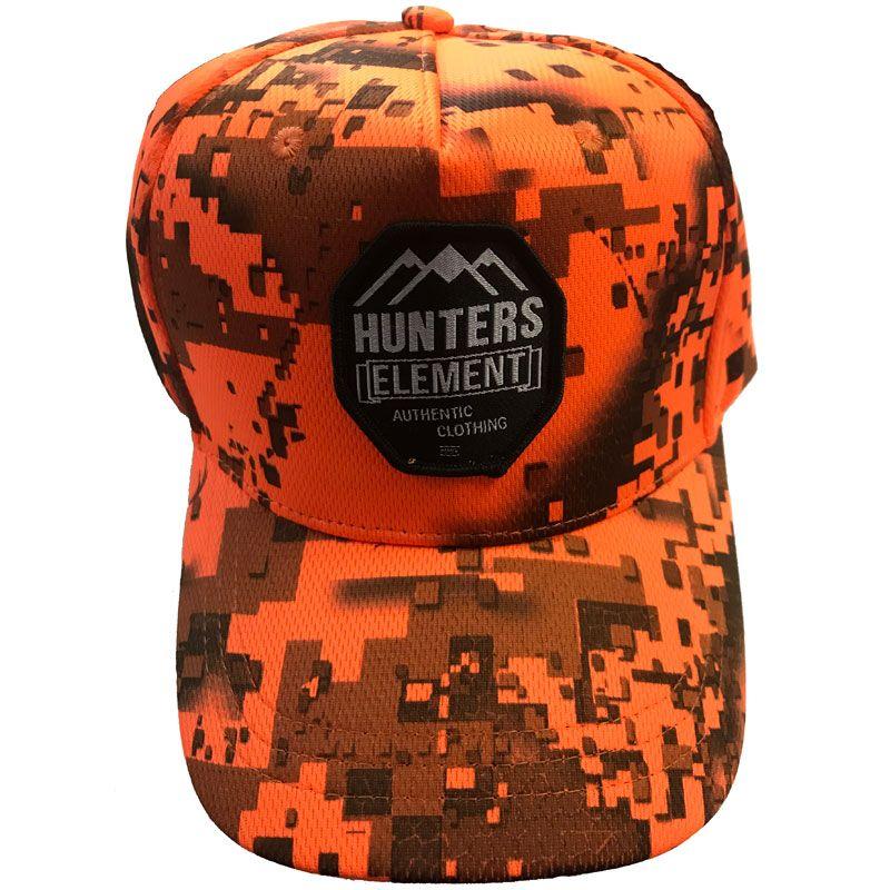 Hunters Element Hunters Element Heat Beater Cap Desolve Fire Camo