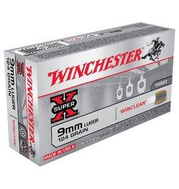 Winchester Winchester Super Clean 9MM 124gr BEB 50Pkt