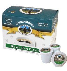 Mystic Monk Coffee Mystic Monk Monk Shots - Royal Rum Pecan