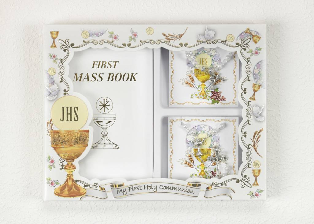 First Holy Communion Mass Set Girl