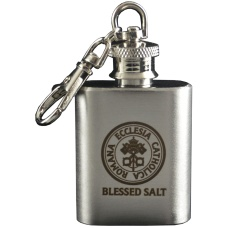 Blessed Salt Flask Key Chain