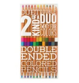 ooly Two of a Kind Colored Pencils - Set of 12