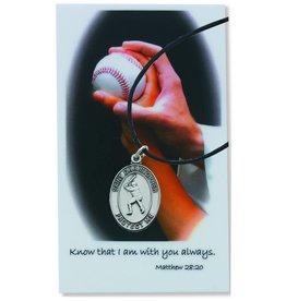 McVan Baseball Prayer Card Set With Medal