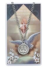 Holy Spirit Prayer Card Set with Medal