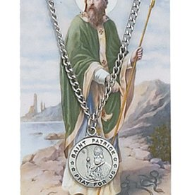 McVan St. Patrick Prayer Necklace and Prayer Card Set