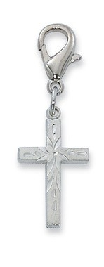 Cross Clippable Charm