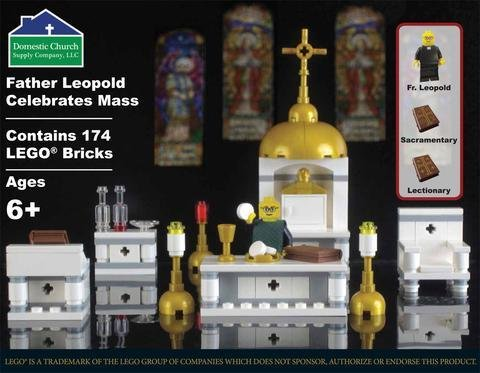 Father Leopold Lego Mass Kit