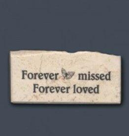 """""""Forever missed - Forever loved"""" Promise Stone"""