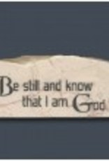 Be Still And Know That I am God - Promise Stone
