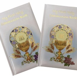 My First Communion Book Blue