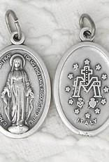 "3/4"" Oval Miraculous Medal"