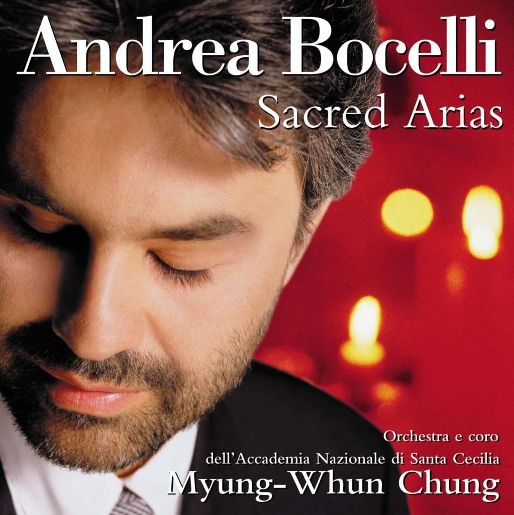 Andrea Bocelli Sacred Arias CD