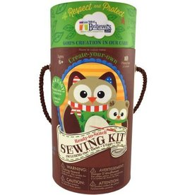 Wee Believers Woodland Sewing Kit