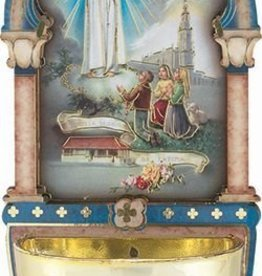 WJ Hirten Our Lady of Fatima Holy Water Font