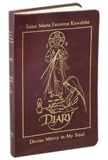 Diary of Saint Maria Faustina Kowalska, Burgandy Leather