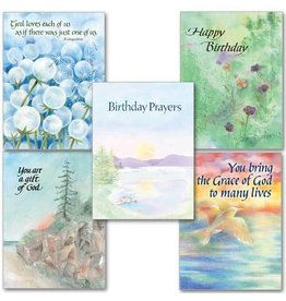 The Printery House Boxed Cards - Birthday Prayers - 10/box