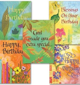 The Printery House Blessings on Your Birthday Assortment - Boxed - 10/box