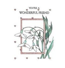 Life Greetings You're a Wonderful Friend