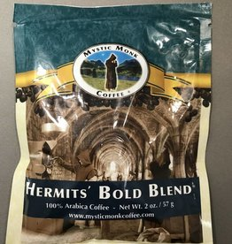 Mystic Monk Coffee Mystic Monk Sample Coffee Hermits' Bold Blend 2oz.