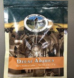 Mystic Monk Sample Coffee Decaf Arabica 2oz.