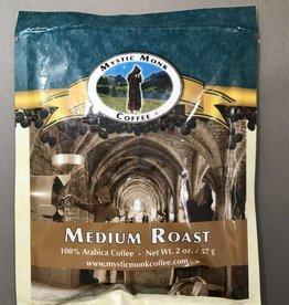 Mystic Monk Sample Coffee Medium Roast 2oz.