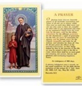 Saint Vincent De Paul Holy Card