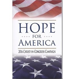 Valentine Publishing House Hope for America - 2016 Christ in Congress Campaign