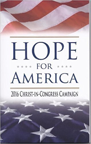 Hope for America - 2016 Christ in Congress Campaign