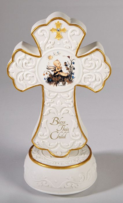 Bless This Child Baptism Musical Cross