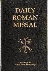 Daily Roman Missal Black Hardcover 3rd Edition