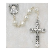 8MM PEARL ROSARY PLASTIC BOX