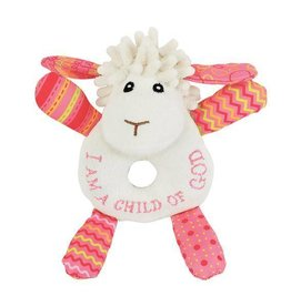 Wee Believers Lucy The Little Lamb Rattle