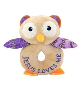 Wee Believers Opal the Owlet Rattle