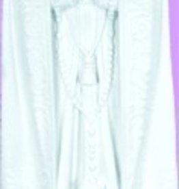 "Space Age Plastics 24"" Our Lady Of Fatima - White Finish"