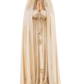 """4"""" Our Lady of Fatima Statue"""